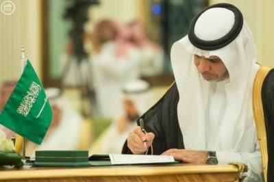 الملك سلمان يعقد جلسة مباحثات مع الرئيس التركمانستي.jpg5