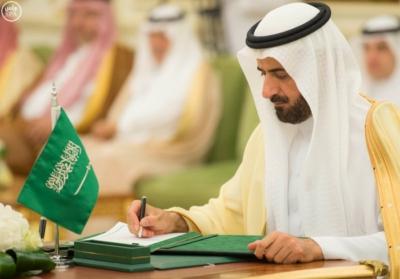 الملك سلمان يعقد جلسة مباحثات مع الرئيس التركمانستي.jpg7