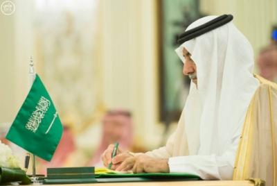الملك سلمان يعقد جلسة مباحثات مع الرئيس التركمانستي.jpg8