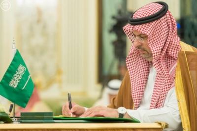 الملك سلمان يعقد جلسة مباحثات مع الرئيس التركمانستي.jpg9