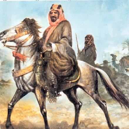 -عبدالعزيز-على-حصان