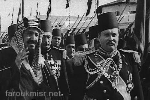 الملك عبدالعزيز في مصر 6