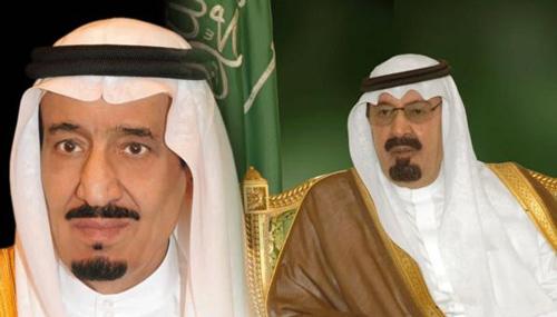 الملك عبدالله - سلمان بن عبدالعزيز