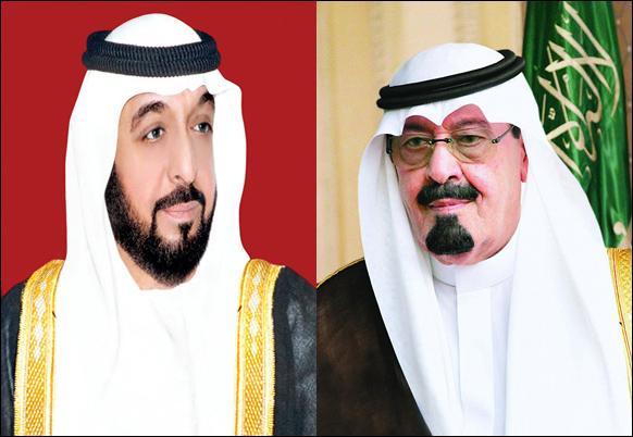 الملك عبدالله وخليفه