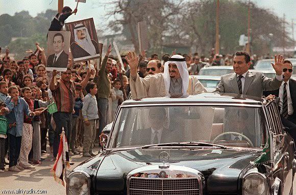 الملك فهد في مصر7