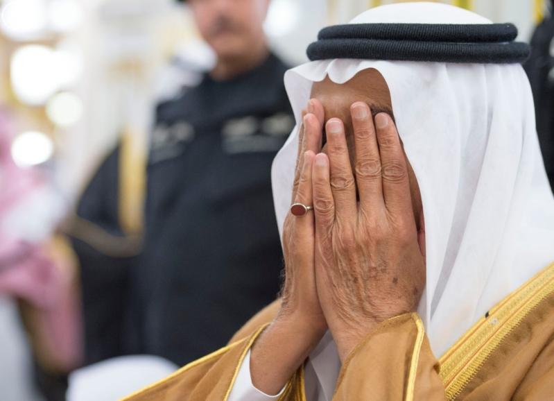 الملك في المسجد النبوي (34669068) 