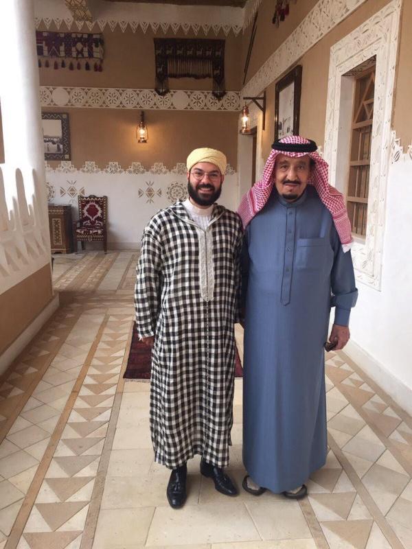 الملك مع سماعيل بن عبدالله 1
