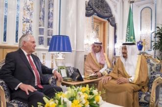 خادم الحرمين يبحث آفاق التعاون مع وزير الخارجية الأميركي - المواطن