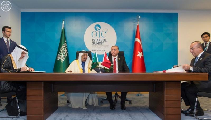 الملك والرئيس التركي1