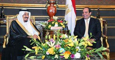 الملك والرئيس المصري يشهدان الاتفاقيات