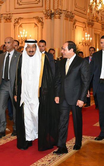 الملك والرئيس المصري يشهدان الاتفاقيات4