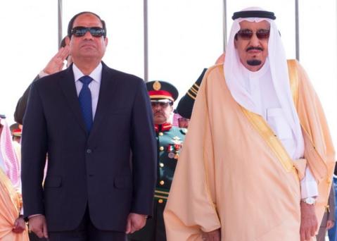 الملك و الرئيسي المصري