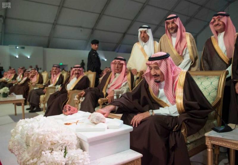 الملك يدشن مشاريع التعدين في مدينة رأس الخير والبنية الأساسية والتنموية 3