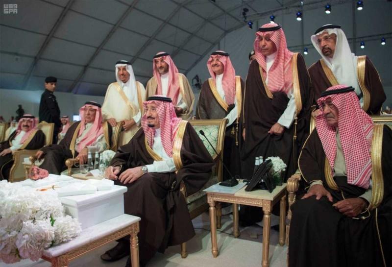 الملك يدشن مشاريع التعدين في مدينة رأس الخير والبنية الأساسية والتنموية 4