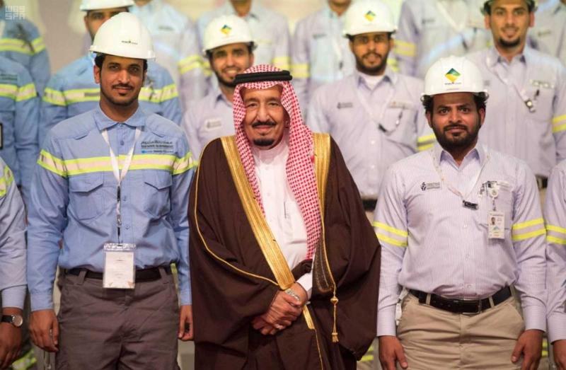 الملك يدشن مشاريع التعدين في مدينة رأس الخير والبنية الأساسية والتنموية 5