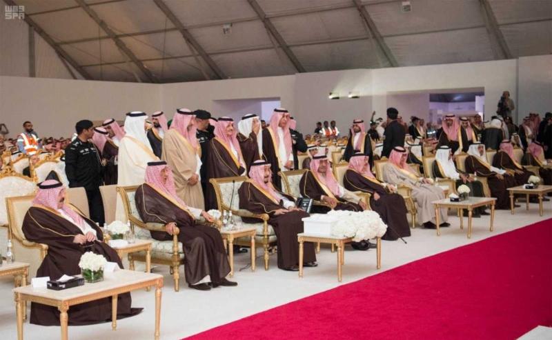 الملك يدشن مشاريع التعدين في مدينة رأس الخير والبنية الأساسية والتنموية 6