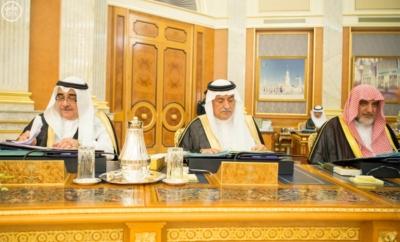 الملك يرأس جلسة الوزراء2