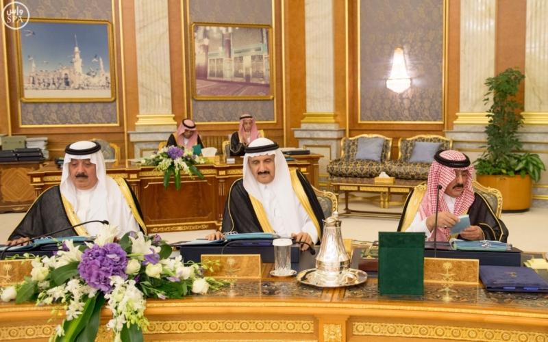 الملك يرأس جلسة مجلس الوزراء2