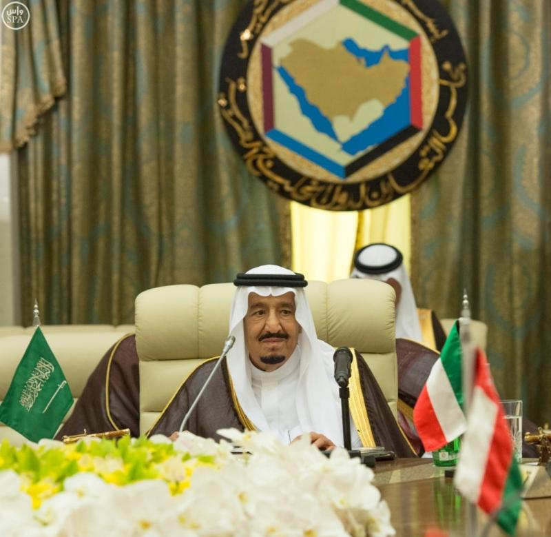 الملك يراس الاجتماع التشاوري لمجلس التعاون1