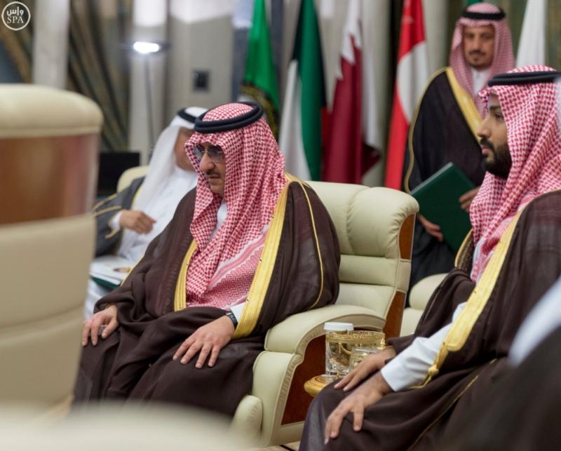 الملك يراس الاجتماع التشاوري لمجلس التعاون12
