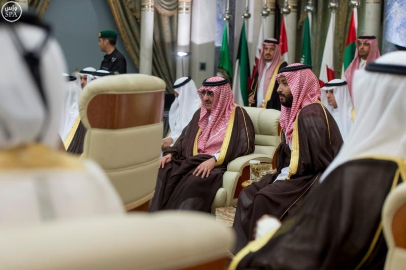 الملك يراس الاجتماع التشاوري لمجلس التعاون13