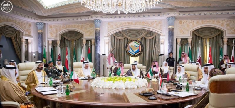 الملك يراس الاجتماع التشاوري لمجلس التعاون14