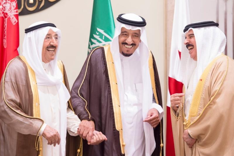 الملك يراس الاجتماع التشاوري لمجلس التعاون15