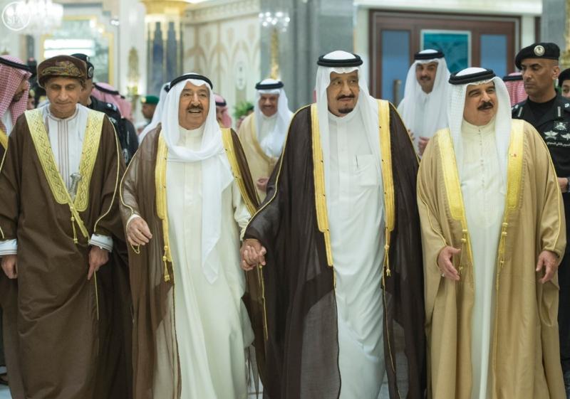 الملك يراس الاجتماع التشاوري لمجلس التعاون18