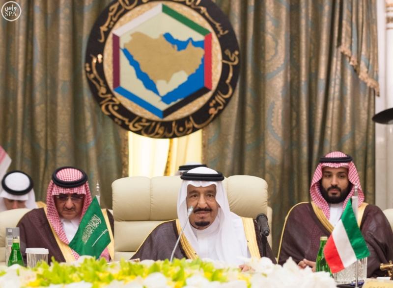 الملك يراس الاجتماع التشاوري لمجلس التعاون2