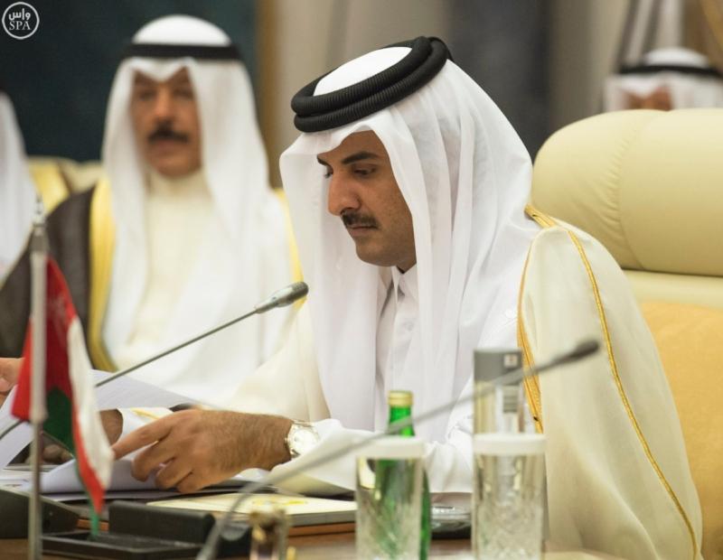 الملك يراس الاجتماع التشاوري لمجلس التعاون7
