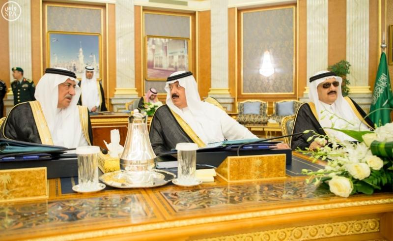 الملك يراس جلسة مجلس الوزراء4
