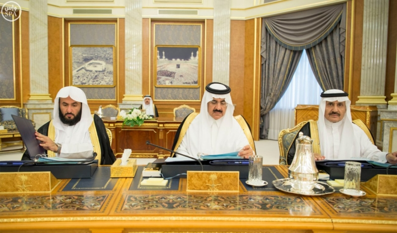الملك يراس جلسة مجلس الوزراء7