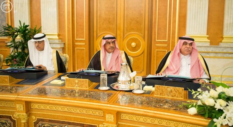 الملك يراس جلسة مجلس الوزراء9