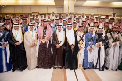 الملك يرعى حفل تخرج تدفع 41 من طلاب المدارس
