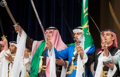 الملك يرعى حفل تخرج تدفع 41 من طلاب المدارس8
