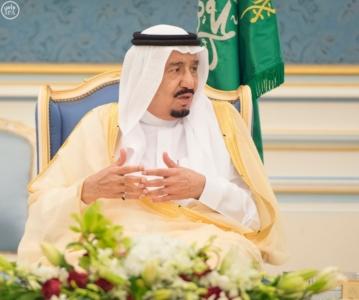 الملك يستقبل أصحاب السمو والامراء ومفتي عام المملكة12