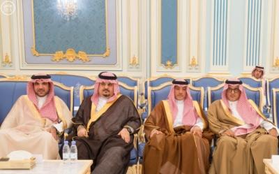 الملك يستقبل أصحاب السمو والامراء ومفتي عام المملكة15