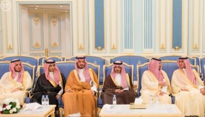 الملك يستقبل أصحاب السمو والامراء ومفتي عام المملكة19