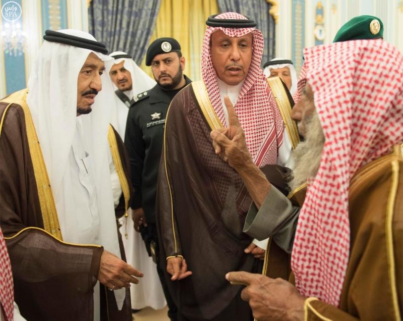 الملك يستقبل الامراء ومفتي عام المملكة12