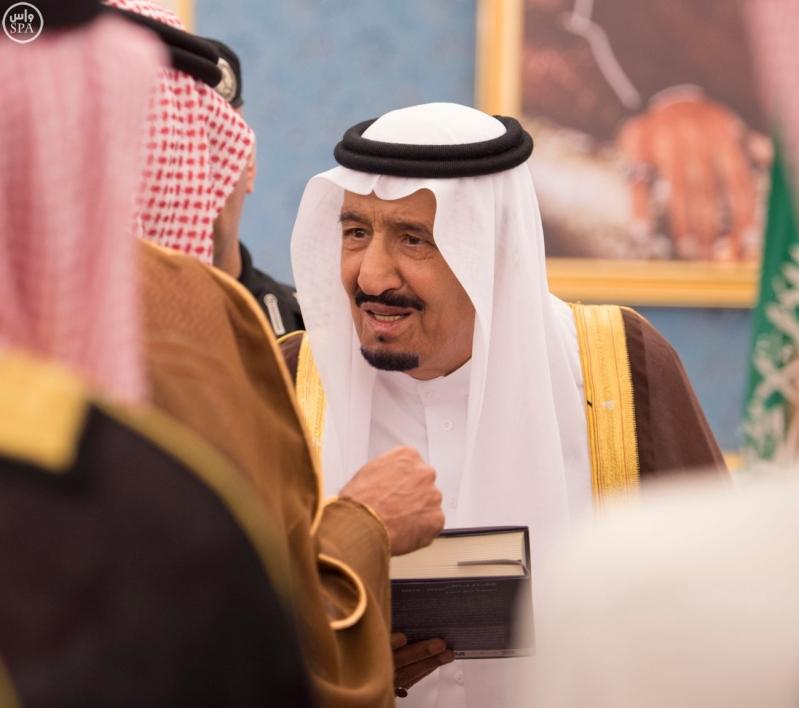 الملك يستقبل الامراء ومفتي عام المملكة17