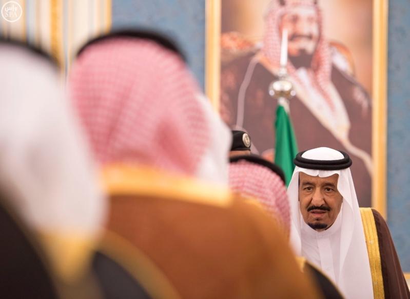 الملك يستقبل الامراء ومفتي عام المملكة18