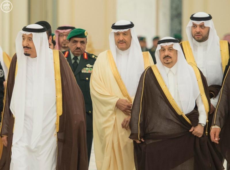 الملك يستقبل الامراء ومفتي عام المملكة19