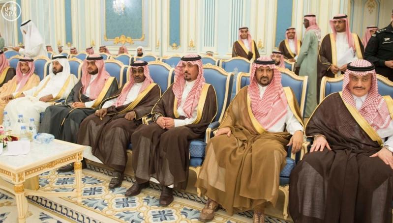 الملك يستقبل الامراء ومفتي عام المملكة21