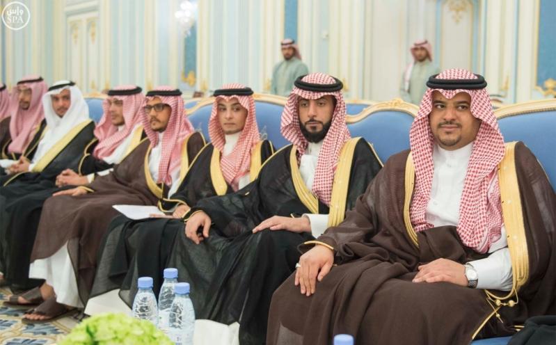 الملك يستقبل الامراء ومفتي عام المملكة23