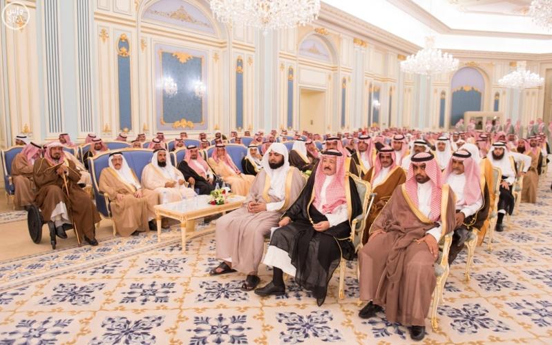 الملك يستقبل الامراء ومفتي عام المملكة24