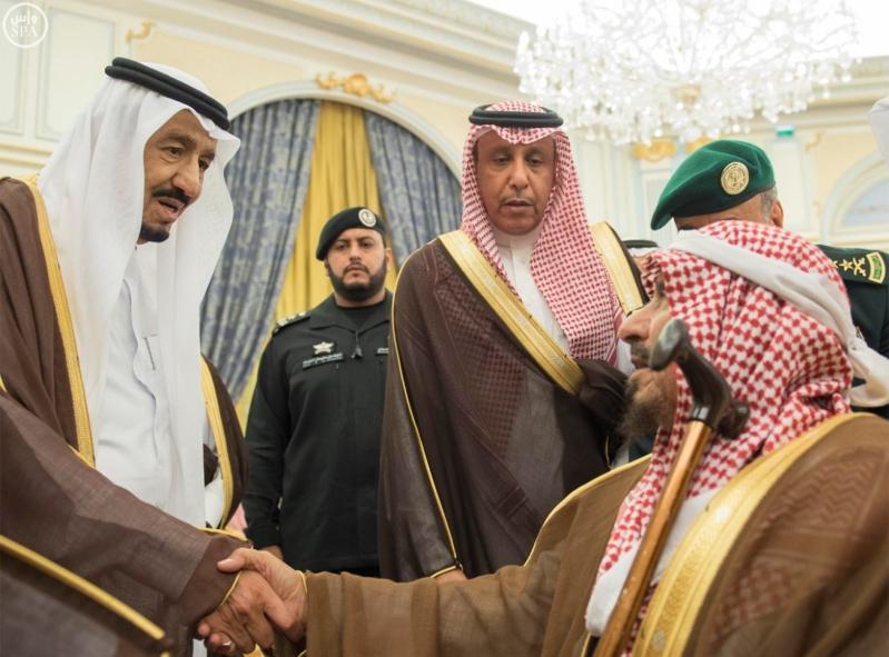 الملك يستقبل الامراء ومفتي عام المملكة7