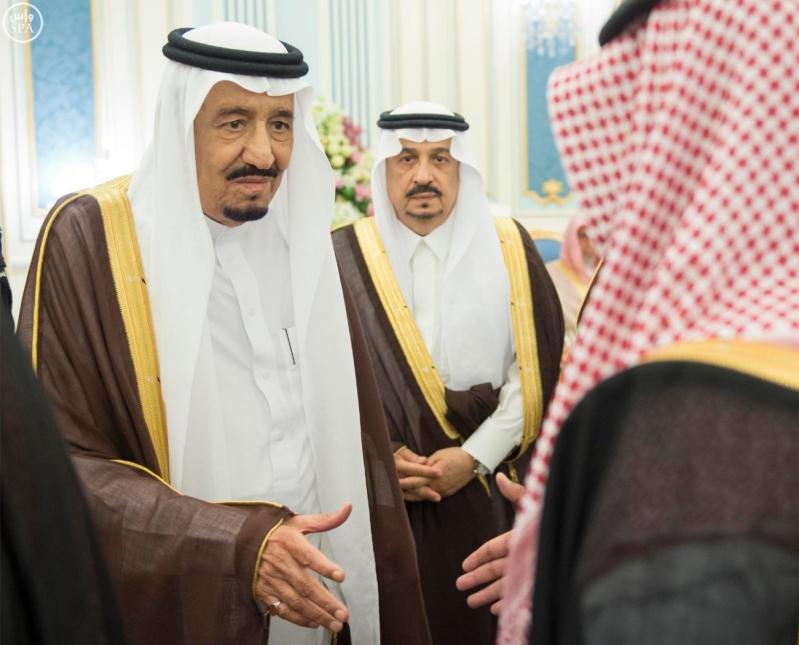 الملك يستقبل الامراء ومفتي عام المملكة8