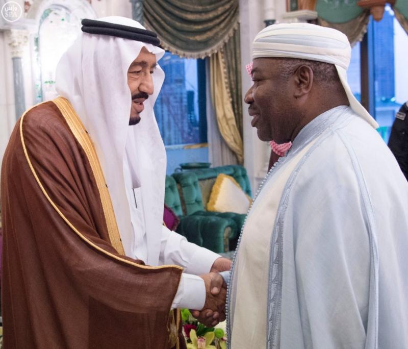 الملك يستقبل الرئيس الأفغاني والجابوني والحريري ووزير الدفاع الجيبوتي ورئيس حركة النهضة التونسية وأمين أوبك1