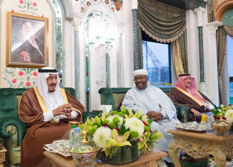 الملك يستقبل الرئيس الأفغاني والجابوني والحريري ووزير الدفاع الجيبوتي ورئيس حركة النهضة التونسية وأمين أوبك11