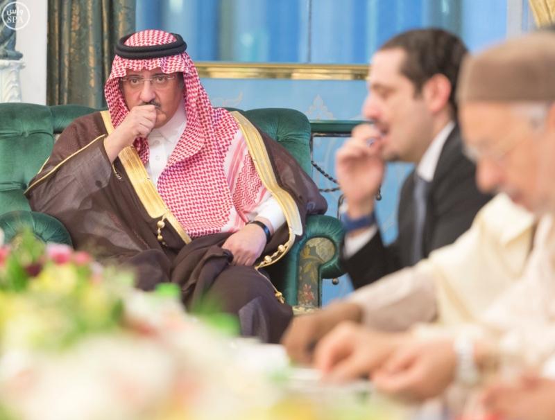 الملك يستقبل الرئيس الأفغاني والجابوني والحريري ووزير الدفاع الجيبوتي ورئيس حركة النهضة التونسية وأمين أوبك12